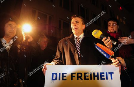 Editorial image of Germany Right Wing Party Meeting Fails - Jan 2011