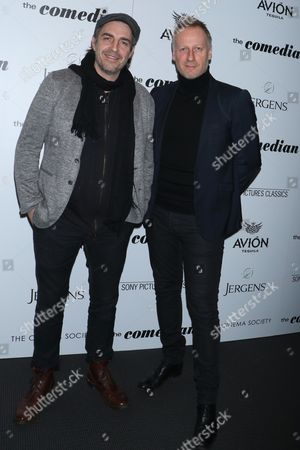 Editorial picture of 'The Comedian' film screening, Arrivals, New York, USA - 31 Jan 2017