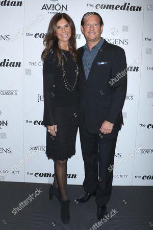 Stock Image of Rhonda Axelowitz and Mark Axelowitz