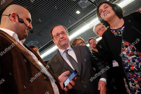 Editorial image of Hollande, Paris, France - 01 Feb 2017