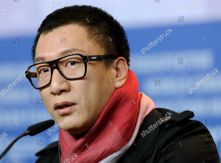Chinese Actor Sun Honglei Attends the Press Conference of the Movie 'A Woman a Gun and a Noodle Shop' (san Qiang Pai an Jing Qi) During the 60th Berlin International Film Festival in Berlin Germany 14 February 2010 the Movie by Chinese Director Zhang Yimou is Presented in Competition at the Berlinale 2010 Running Until 21 February Germany Berlin