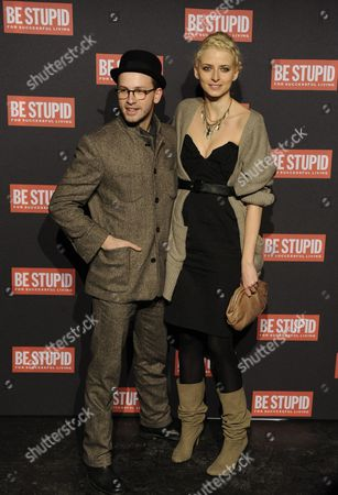 German Fashion Model Eva Padberg and German Actor Franz Dinda Show Off Designs During the Diesel Label Show at the Mercedes-benz Fashion Week in Berlin Germany 20 January 2010 Fall/winter 2010/11 Fashion Trends Are Presented at the Fashion Week Until 23 January Germany Berlin