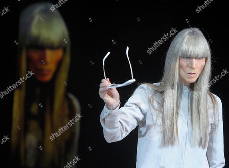 German 65 Year-old Model Eveline Hall Seen on Stage During the Michalsky Style Nite Show Offsite the Mercedes-benz Fashion Week in Berlin Germany 08 July 2011 the Presentation of the Spring/summer 2012 Collections Takes Place From From 06 to 09 July 2011 Germany Berlin