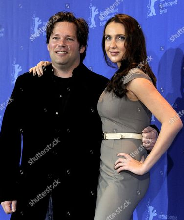 Us Actress Anna Anissimova (r) and Director Trent Cooper (l) Pose During Photo Call For the Film 'Father of Invention' at the 60th Berlinale International Film Festival in Berlin Germany 15 February 2010 the Festival Runs Until 21 Febuary 2010 Germany Berlin