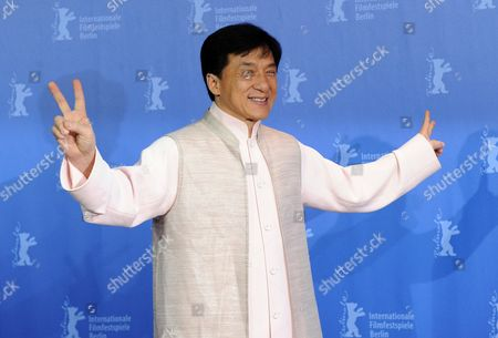 Chinese Actor Jackie Chan Attends the Photocall For His Film 'Little Big Soldier' During the 60th Berlin International Film Festival in Berlin Germany 16 February 2010 the Film by Director Ding Sheng is Presented in the Berlinale Special Section of the Festival Running Until 21 February Germany Berlin
