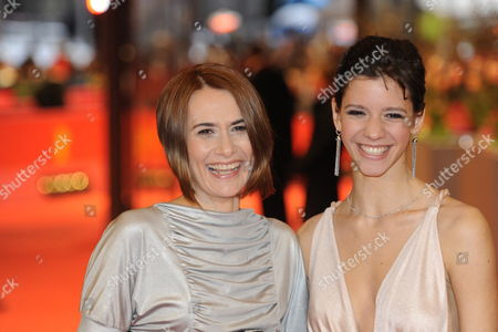 Romanian Actresses Clara Voda (l) and Ada Condeescu (r) Arrive at the Premiere of the Movie 'Eu Cand Vreau Sa Fluier Fluier' (if i Want to Whistle i Whistle) During the 60th Berlin International Film Festival in Berlin Germany 13 February 2010 the Movie Directed by Florin Serban is Presented in Competition at the Berlinale 2010 Running Until 21 February Germany Berlin