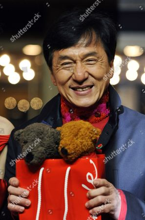 Chinese Actor Jackie Chan Attends the Premiere of His Film 'Little Big Soldier' During the 60th Berlin International Film Festival in Berlin Germany 17 February 2010 the Film by Director Ding Sheng is Presented in the Berlinale Special Section of the Festival Running Until 21 February Germany Berlin