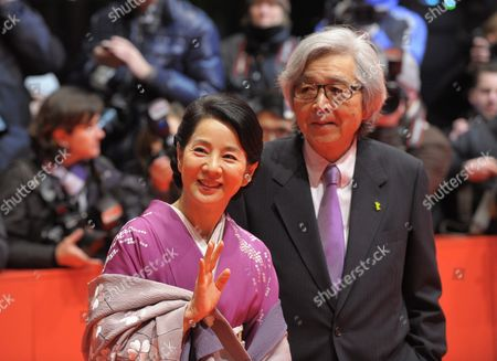 Japanese Director Yoji Yamada (r) and Japanese Actress Sayuri Yoshinaga Arrive For the Closing Ceremony of the 60th Berlinale International Film Festival in Berlin Germany 20 February 2010 Up to 400 Films Are Shown Every Year As Part of the Berlinale's Public Programme the Berlinale is Divided Into Different Sections Each with Its Own Unique Profile Germany Berlin