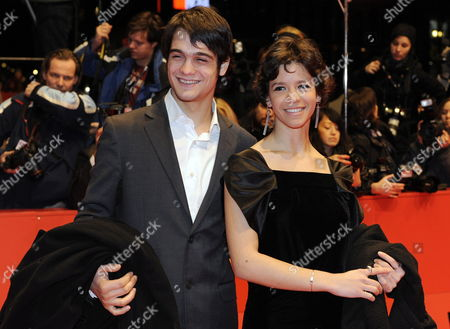 Romanian Actress Ada Condeescu and Romanian Actor George Pistereanu Arrive For the Closing Ceremony of the 60th Berlinale International Film Festival in Berlin Germany 20 February 2010 Up to 400 Films Are Shown Every Year As Part of the Berlinale's Public Programme the Berlinale is Divided Into Different Sections Each with Its Own Unique Profile Germany Berlin