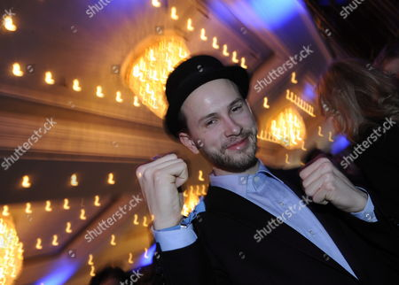 German Actor Franz Dinda Attends the Party 'Movie Meets Media' During the 60th Berlinale International Film Festival in Berlin Germany 12 February 2010 the Festival Runs Until 21 February 2010 Germany Berlin