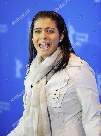 Indian Actress Kajol Devgan Attends the Photo Call For the Film 'My Name is Khan' During the 60th Berlinale International Film Festival in Berlin Germany 12 February 2010 the Festival Runs Until 21 Febuary 2010 Germany Berlin