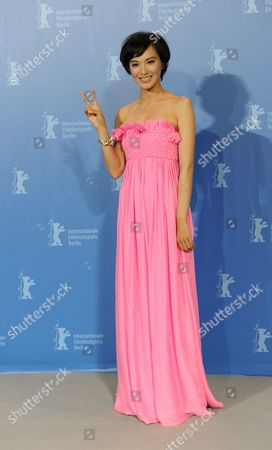 Chinese Actress Monica Mo Attends the Photocall For Her Movie 'Tuan Yuan' ('alone Together') Which Will Open the 60th Berlinale International Film Festival in Berlin Germany 11 February 2010 the Festival Runs Until 21 February Germany Berlin