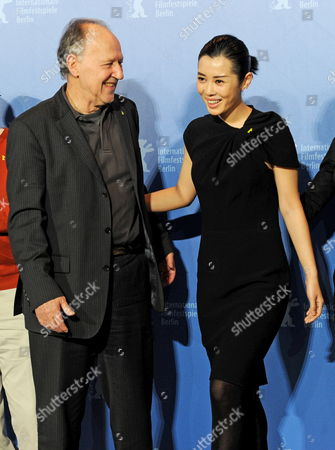 Chinese Actress Yu Nan and German Director and Jury President Werner Herzog Attend a Photocall of the Berlinale Jury on the Occasion of the 60th Berlinale International Film Festival in Berlin Germany 11 February 2010 the Festival Runs From 11 to 21 February Germany Berlin