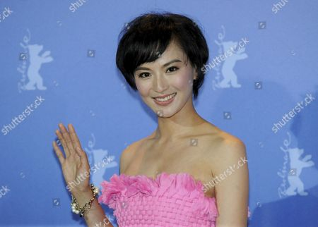Stock Image of Chinese Actress Monica Mo Attends the Photocall For the Movie 'Tuan Yuan' ('apart Together') Which Will Open the 60th Berlinale International Film Festival in Berlin Germany 11 February 2010 the Festival Runs Until 21 February Germany Berlin