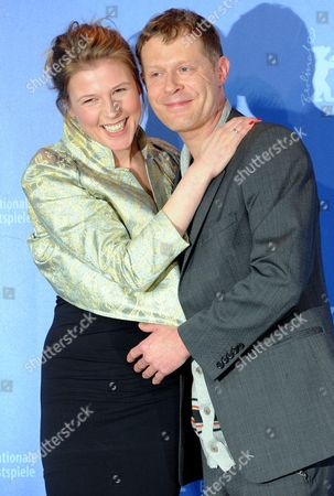 Austrian Actress Franziska Weisz (l) and Austrian Actor Andreas Lust (r) Attend the Photo Call For the Film 'The Robber' Running in Competition During 60th Berlinale International Film Festival in Berlin Germany 15 February 2010 the Festival Runs Until 21 February 2010 Germany Berlin