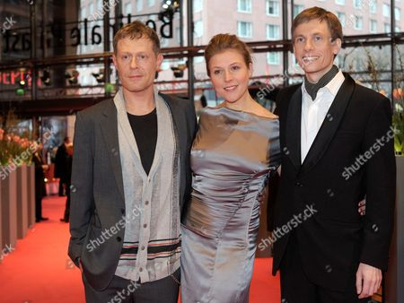 Austrian Actors Andreas Lust (l-r) Franziska Weisz and German Director Benjamin Heisenberg Arrive For the Premiere of Their Movie 'The Robber' During the 60th Berlin International Film Festival in Berlin Germany 15 February 2010 the Movie is Presented in Competition at the Festival Running Until 21 February Germany Berlin
