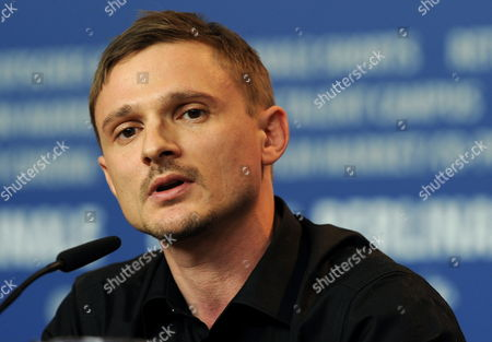 German Actor and Cast Member Florian Lukas Attends the Press Conference of the Movie 'Die Fremde' (when We Leave) During the 60th Berlin International Film Festival in Berlin Germany 13 February 2010 the Movie by Austrian Director Feo Aladag is Presented in the Panorama Press Section at the Berlinale 2010 Running Until 21 February Germany Berlin