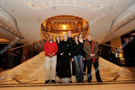 The Jurors of the 60th Berlinale International Film Festival Somali Writer Nuruddin Farah (l-r) German Actress Cornelia Froboess Us Actress Renee Zellweger German Director and Jury President Werner Herzog Chinese Actress Yu Nan and Spanish Producer Jose Maria Morales Attend a Photocall Prior to the Start of the Film Festival in Berlin Germany 10 February 2010 Germany Berlin