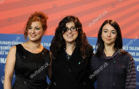 Spanish Actress Viviana Suraniti (l-r) Mexican Director Paula Markovitch and Actress Laura Agorreca Pose at a Press Conference For Their Movie 'El Premio (the Prize)' During the 61st Berlin International Film Festival in Berlin Germany 11 February 2011 the Movie is Presented in Competition at the 61st Berlinale Running From 10 to 20 February Germany Berlin