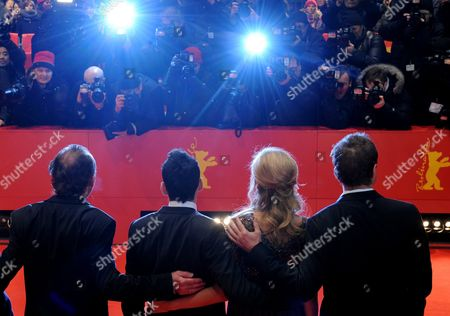 Austrian Actor Karl Markovics (l) German Actors Sebastian Koch (r) and Diane Kruger (2-r) and Spanish Director Jaume Collet-serra Arrive For the Premiere of Their Movie 'Unknown' During the 61st Berlin International Film Festival in Berlin Germany 18 February 2011 the Movie is Presented out of Competition at the 61st Berlinale Running From 10 to 20 February Germany Berlin