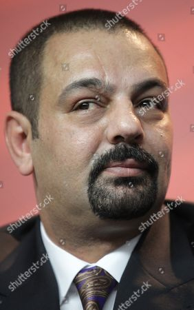 Iraqi Author Latif Yahia Pictured During the Press Conference For the Film 'The Devil's Double' During the 61st Berlin International Film Festival in Berlin Germany 11 February 2011 the Film is Presented in the Panorama Section of the International Film Festival the 61st Berlinale Runs From 10 to 20 February 2011 Germany Berlin