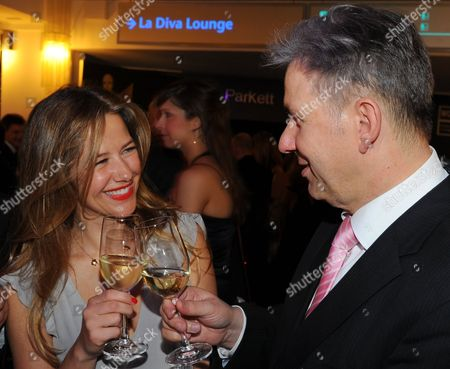 German Actress Alexandra Neldel and Mayor of Berlin Klaus Wowereit Attend the Party After the Ceremony of the German Film Awards 'Lola' in Berlin Germany 08 April 2011 the Prize is Awarded in 16 Categories Germany Berlin