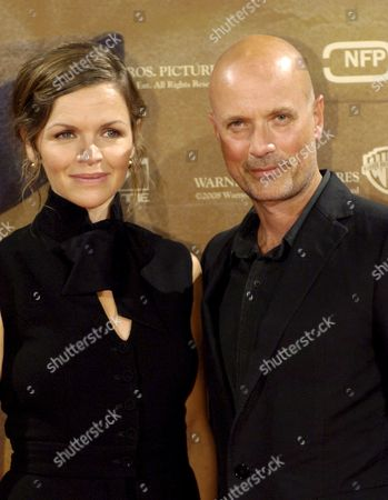 Actors Stine Stengade (r) and Christian Berkel During a Photocall on Occasion of the Premiere of the German-danish Co-production of the Movie 'Tage Des Zorns' (lit : Days of Anger) in Berlin Germany the Film Start in German Cinemas 28 August Germany Berlin
