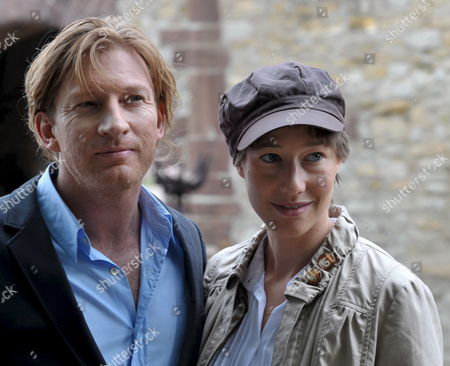 Australian Actor David Wenham (l) and German Actress Johanna Wokalek (r) Arrive For an Interview on Querfurt Castle Germany 09 August 2008 Both Star in the Medieval Spectacle Film 'Pope Joan' Directed by German Filmmaker Soenke Wortmann Wokalek Stars the Role of Johanna Von Ingelheim who in the 9th Century Ad Dresses As a Man and is Crowned Pope in Rome the Film is Shot on Locations in the Harz Region North Rhine Westfalia and Morocco Germany Querfurt