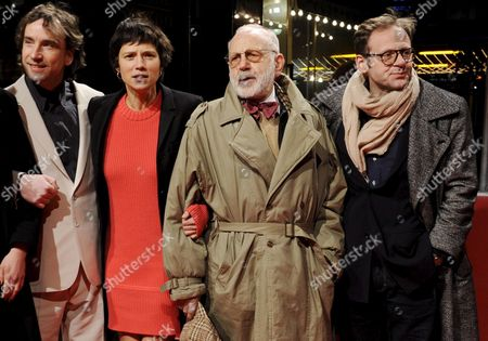 (l-r) Austrian Actor Helmut Koepping Swiss Actress Sabine Timoteo and Bulgarian Actors Itzhak Finzi and Samuel Finzi Arrive For the Premiere of Their Film 'Kill Daddy Good Night' by Austria Director Michael Glawogger at the 59th Berlin International Film Festival in Berlin Germany 08 February 2009 the Film Runs in the Panorama Special Section a Total of 18 Films Compete For the Silver and Golden Bears of the 59th Berlinale Germany Berlin