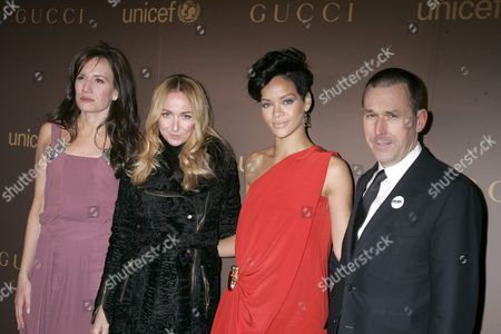 Editorial picture of Gucci Launches the Tattoo Heart Collection to Benefit UNICEF, Cocktail Reception at Gucci Store, New York, America - 19 Nov 2008