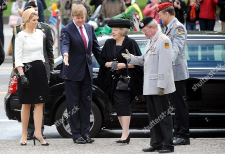 Editorial photo of Germany Dutch Royals Visit - Apr 2011