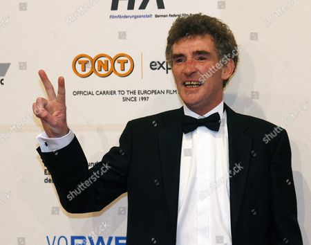 Stock Picture of British Actor Steve Evets Arrives For the 22nd European Film Awards in Bochum Germany 12 December 2009 the Awards Are Given by the European Film Academy Germany Bochum