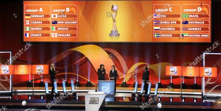 Editorial picture of Germany Fifa Women World Cup 2011 - Nov 2010