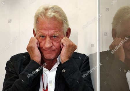 Father of British Formula One Driver Jenson Button of Mclaren Mercedes John Button Seen During the Third Practice Session at the F1 Race Track of Nuerburgring Nuerburg Germany 23 July 2011 the Formula One Grand Prix of Germany Will Take Place on 24 July Germany Nuerburg