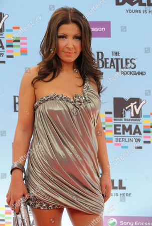 Swedish-greek Singer Helena Paparizou Arrives For the Mtv Europe Music Awards 2009 in Berlin Germany 05 November 2009 Mtv Chose the City of Berlin As 2009 Marks the 20th Anniversary of the Fall of the Berlin Wall Germany Berlin