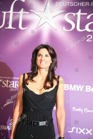 Former Argentinian Tennis Player Gabriela Sabatini Arrives on the Red Carpet For the Award of the German Perfume Prize 'Duft Stars' in Berlin Germany 27 May 2011 the German Prize is the Most Prestigious Fragrance Award in the Perfume Industry Germany Berlin