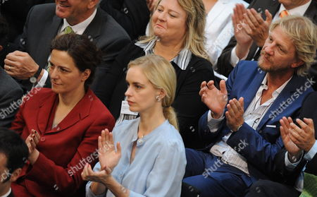 (l-r)ámembers of the Federal Convention Actresses Martina Gedeck Nina Hoss and Filmmaker Soenke Wortmann Attend the Election of the German President in Berlin Germany 30 June 2010 the German President is Elected by the Federal Convention Germany Berlin