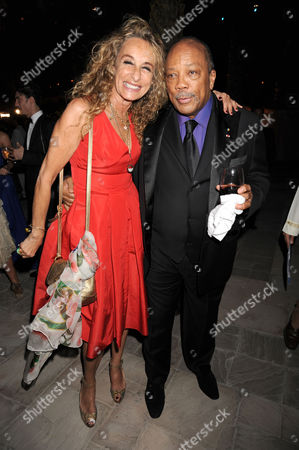 Anne Dexter-Jones and Quincy Jones
