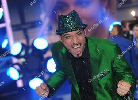 Singer Mehrzad Marashi Wins the Finals of the Rtl Tv Show 'Deutschland Sucht Den Superstar' (dsds) in Cologne Germany 17 April 2010 Germany Cologne