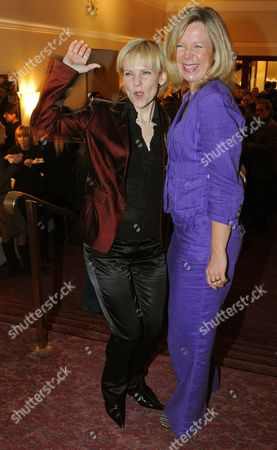 A Picture Dated 27 October 2009 Shows German Actresses Andrea-kathrin Loewig (l) and Marion Kracht Posing For Photographs After the Premiere of the Film 'Romy' at the Cinema 'Delphi' in Berlin Germany the German Public Television Station Ard Film by German Director Torsten C Fischer on the Life of Austrian-born Actress Romy Schneider (1938-1982) Will Be Broadcasted on 11 November Germany Berlin