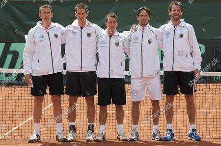 Editorial photo of Germany Tennis Davis Cup - Jul 2011