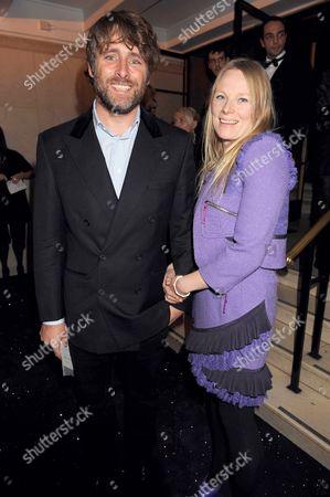 Luella Bartley and husband David Sims