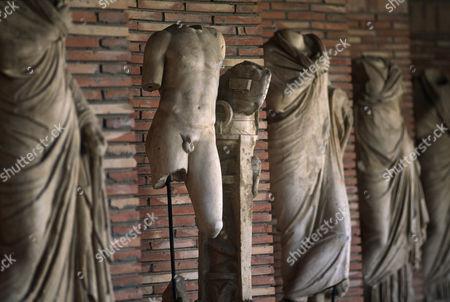 Roman statues at Appolonia/ Appollonia, Albania