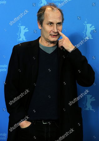 French Actor Hippolyte Girardot Poses at a Photocall For the Film 'Schlafkrankheit' (sleeping Sickness) During the 61st Berlin International Film Festival in Berlin Germany 12 February 2011 the Film by German Director Ulrich Koehler is Presented in Competition at the 61st Berlinale That Runs From 10 to 20 February Germany Berlin