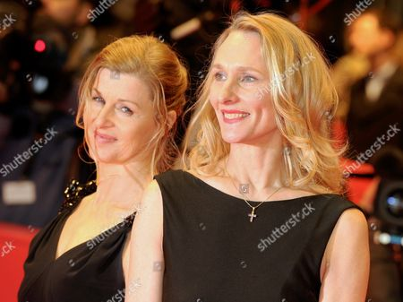 Stock Picture of Dancers Julie Shanahan (r) and Barbara Kaufmann Arrive For the Premiere of the Film 'Pina' During the 61st Berlin International Film Festival in Berlin Germany 13 February 2011 the Film is Running in the Section Competition out of Competition of the International Film Festival the 61st Berlinale Takes Place From 10 to 20 February 2011 Germany Berlin