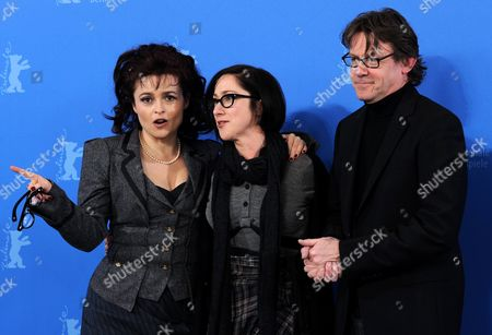 British Actress Helena Bonham Carter (l-r) British Author Nigel Slater and British Director S J Clarkson Pose During the Photocall of the Film 'Toast' During the 61st Berlin International Film Festival in Berlin Germany 16 February 2011 the Film by S J Clarkson is Presented in the Berlinale Special Section at the International Film Festival the 61st Berlinale Runs From 10 to 20 February 2011 Germany Berlin