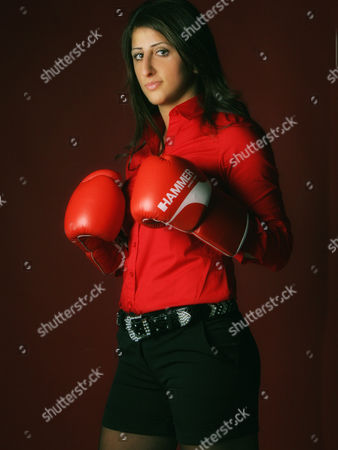 An Undated Photograph of Professional Boxer and Wibf Und Wiba Lightweight Champion Rola El-halabi Ináulm Germany Media Reports on 03 April 2011 State That Female Boxer Rola El-halabi was Shot Her in the Hands Feet and Knees in Her Dressing Room As She Prepared to Fight For the Wibf World Lightweight Title in Karlshorst Berlin Germany on 01 April 2011 El-halabi's 44-year-old Attacker was Overpowered by Police at the Boxing Hall and Arrested Shortly After the Shooting Germany Ulm