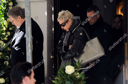 German Director and Writer Doris Doerrie (c) Leaves After the Mourning Ceremony For German Director Bernd Eichinger at St Michael's Church Takes Place in Munich Germany 07 February 2011 Eichinger Died Unexpectedly on 24 January at the Age of 61 Germany Munich