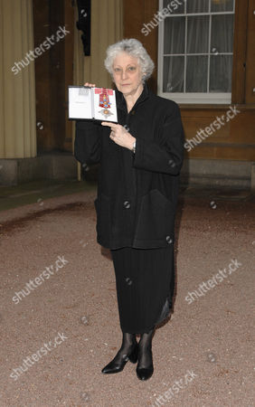 Director of The Royal Ballet Dame Monica Mason who received an MBE for services to dance.
