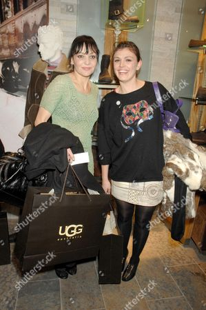 Pearl Lowe and Mairead Nash